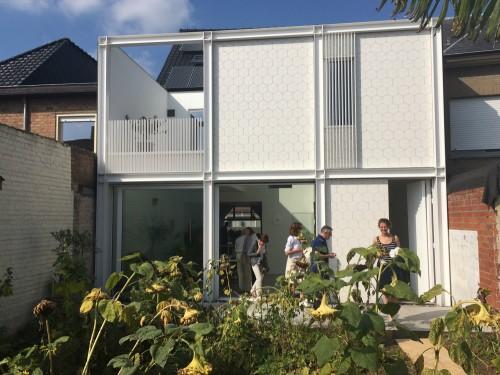 Mijn huis mijn architect verwelkomt bezoekers orde