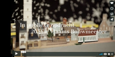 'In publieke opdracht. 20 jaar Vlaams Bouwmeester'