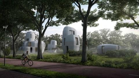 Wereldprimeur: Eindhoven krijgt 3D-geprinte huizen