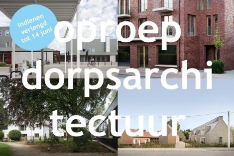 Oproep: goede dorpsarchitectuur