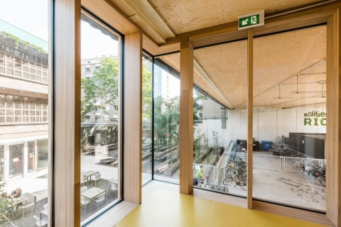 B-architecten, Mundo-a © Lucid