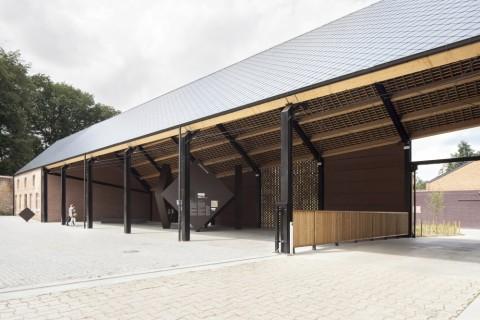 Project: Belevingscentrum Het Moment Ontwerper: B-bis architecten Locatie: Averbode