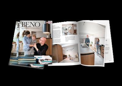 Plannen om je huis te renoveren of - beter nog - te BENOveren? Vraag het gratis magazine BENO aan!