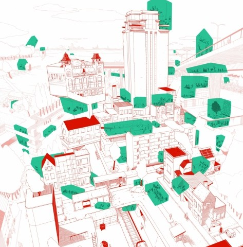 Gent wordt gaststad Festival van de architectuur 2019