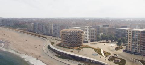 Nieuw casino Middelkerke wordt gebouwd naar ontwerp van Nederlandse architect