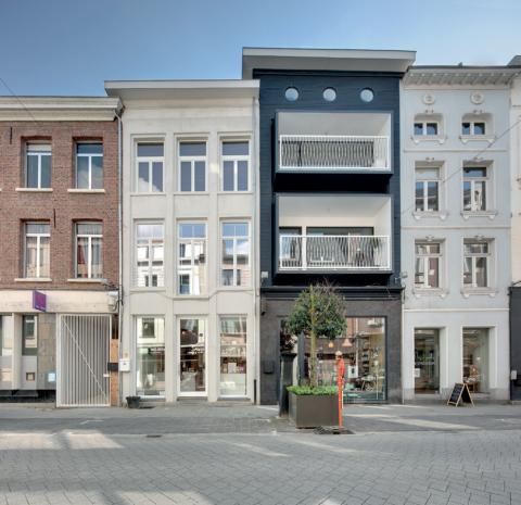 Project: Site Apostolinnen Ontwerper: dmvA architecten Locatie: Mechelen