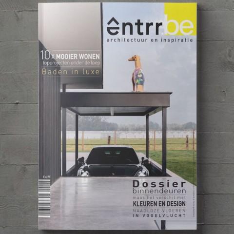 Gratis ENTRR magazine voor architecten