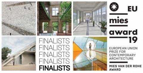 Twee Belgische projecten in finale Mies van der Rohe Award
