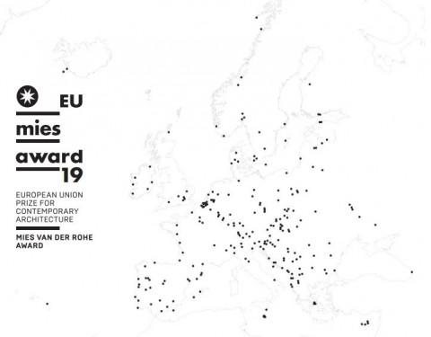 21 Belgische projecten kanshebber Mies Van der Rohe Award