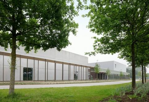 Gymnastiekinfrastructuur & Jeugdontmoetingscentrum, URA Yves Malysse Kiki Verbeeck © Filip Dujardin