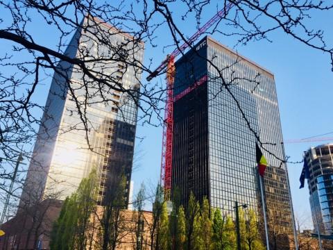 Afbraak Brusselse WTC-torens gestart - 95% van de materialen wordt hergebruikt