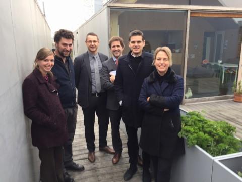 Bezoek aan Project Roos, winnaar bis architectuurwedstrijd 2017