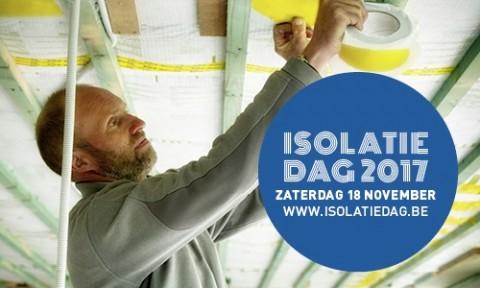 Eerste Vlaamse Isolatiedag op 18 november 2017