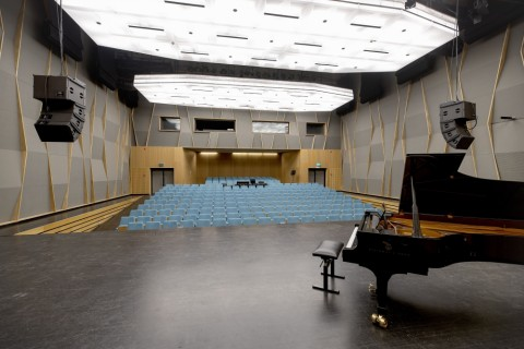 Muziekcentrum Kortrijk - Dial Architects © David Samyn