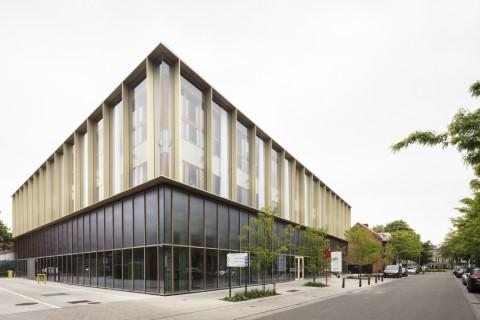Nieuw administratief centrum Brasschaat, Compagnie-O architecten © Tim Van de velde
