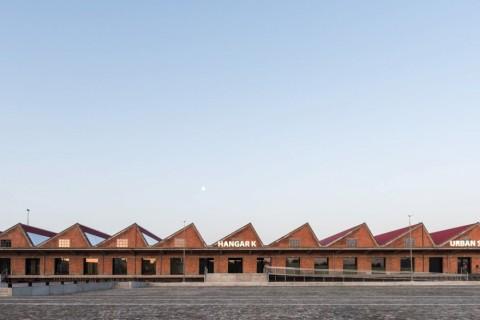 NMBS loods/Hangar K, goedefroo+goedefroo architecten © Marc Sourbron