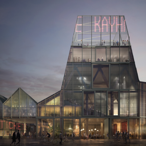Londens bureau Sergison Bates architects ontwerpt toekomstige culturele hotspot in hartje Leuven