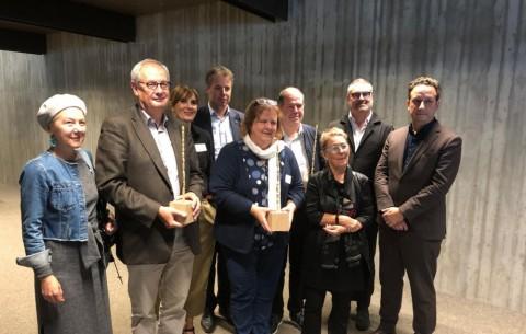 Prijs Wivina Demeester naar Mechelse crèche, vzw Sint-Monica en Vlaamse Landmaatschappij