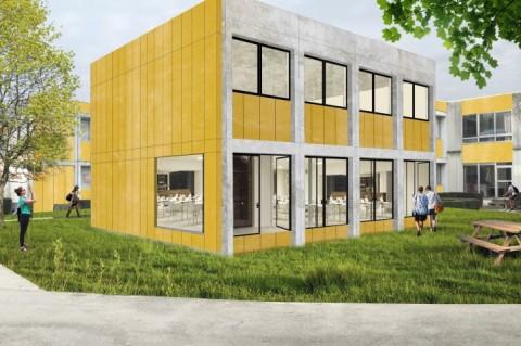 VUB bouwt iconische koten om tot eerste Europese circulair renovatieproject