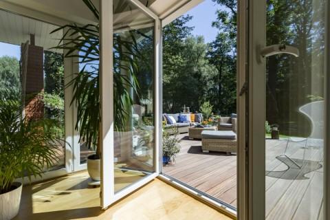 Architect niet meer nodig voor veranda's die voor minstens 75% uit glas bestaan