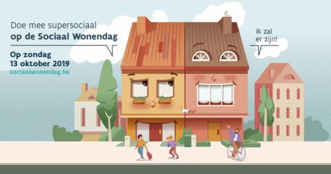 Sociaal Wonendag op 13 oktober 2019