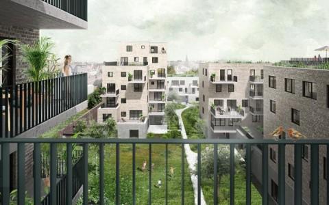 Grootste cohousingproject van Vlaanderen haalt binnen twee jaar energie 148 meter diep